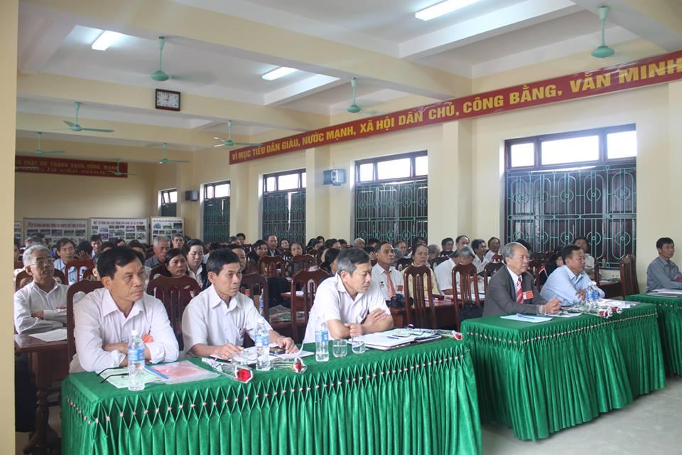 Huyện Quảng Ninh: HỘI KHUYẾN HỌC THỊ TRẤN QUÁN HÀU VÀ XÃ VÕ NINH QUYẾT TÂM THỰC HIỆN MỤC TIÊU NHIỆM KỲ MỚI (2015 - 2020)