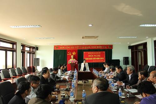 Hội nghị Giao ban 6 tháng cuối năm 2019