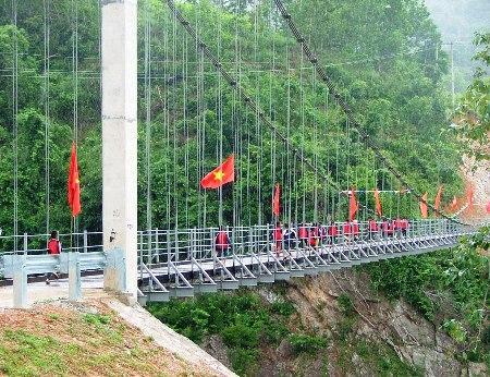 """Cầu """"Khuyến học & Dân trí"""" thứ 7 được khánh thành tại Quảng Bình"""